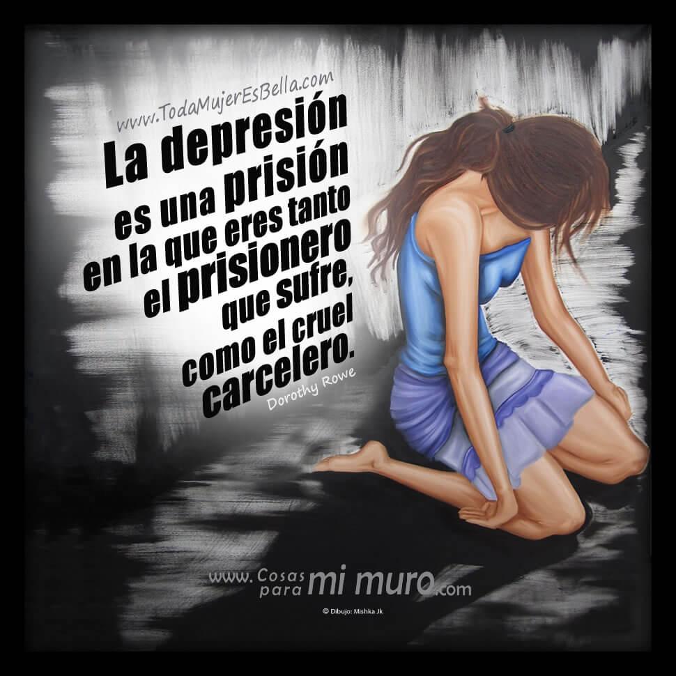 La depresión es una prisión