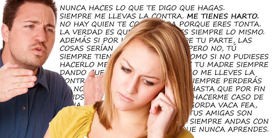 Abuso verbal adolescente a los padres