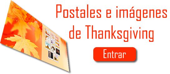 Postales de Thanksgiving