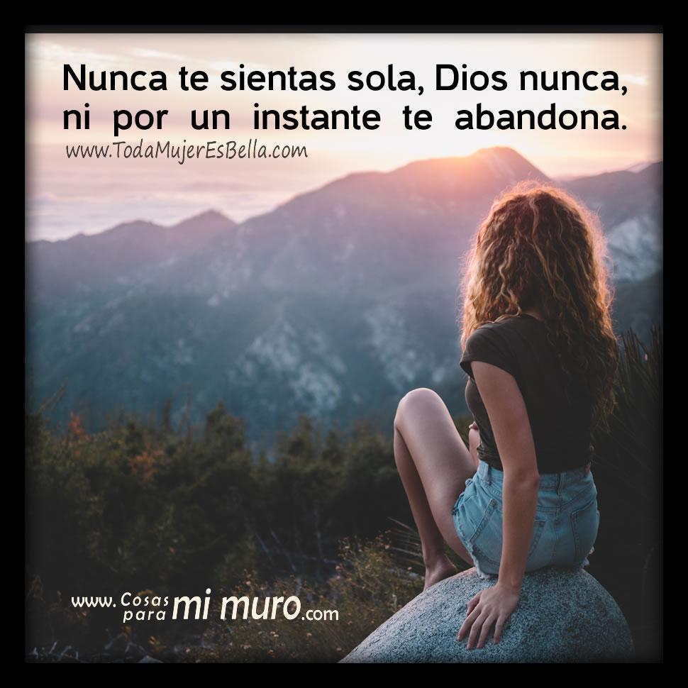 Dios nunca te abandona